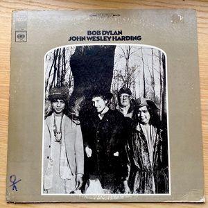 Bob Dylan John Wesley Harding Vinyl Record LP